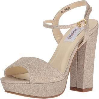 Dyeables Dyeables, Inc Womens Inc Womens Women's Whitta Platform Dress Sandal