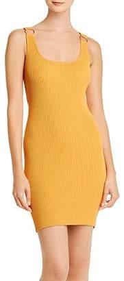 GUESS Coss Rib-Knit Body-Con Dress