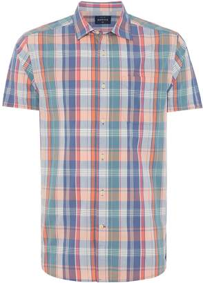 Howick Men's Palmerston Short Sleeve Check Shirt