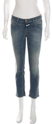 Closed Low-Rise Distressed Jeans