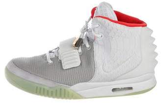 Nike x Kanye West Air Yeezy 2 NRG Platinum Sneakers