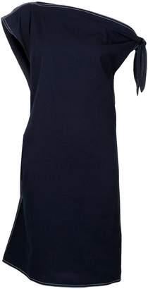 MM6 MAISON MARGIELA denim off the shoulder dress