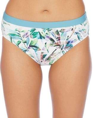 Next Capri Printed High Waist Swim Bottoms
