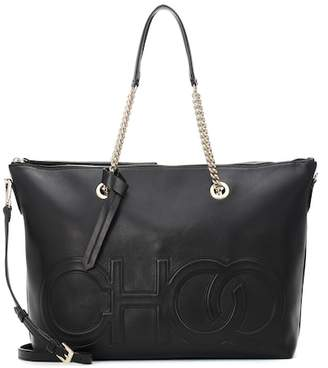 Jimmy Choo Allegra leather tote