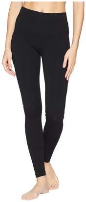 Hard Tail Gold Stars Hi-Waist Ankle Leggings Women's Casual Pants