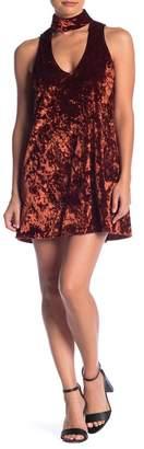 Show Me Your Mumu Friday Choker Velvet Dress