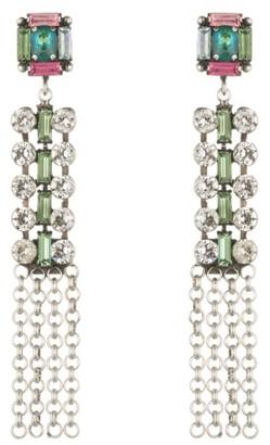 Women's Dannijo Akili Crystal Drop Earrings $370 thestylecure.com