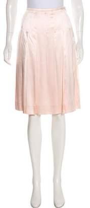 Burberry Vintage Silk Skirt