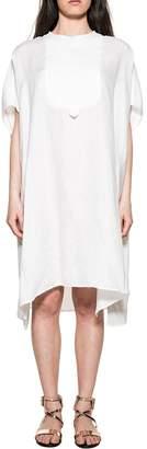 Bagutta White Linen Dress