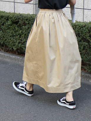 Coen (コーエン) - coen チノフレアロングスカート コーエン スカート