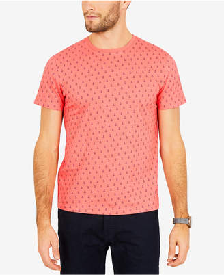 Nautica Men's Anchor-Print Cotton T-Shirt