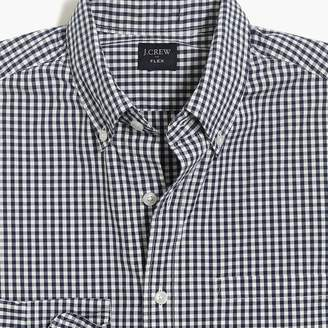 J.Crew Tall slim-fit flex washed shirt in small gingham
