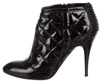 Burberry Patent Ankle Boots