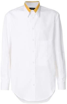 Joseph colour block collared shirt