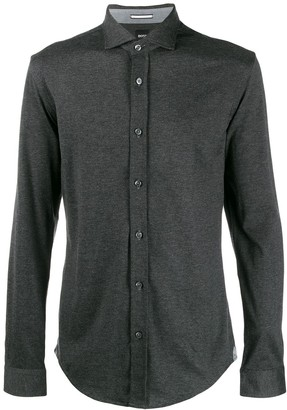 HUGO BOSS plain shirt