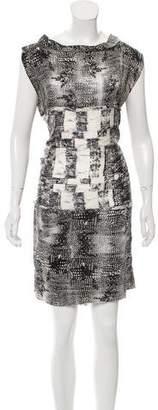 Edun Silk Knee-Length Dress