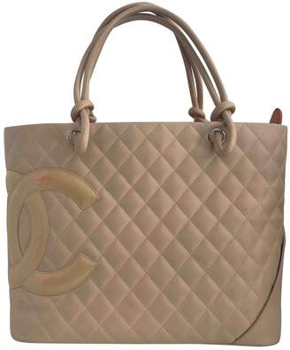 Chanel Cambon Leather Tote