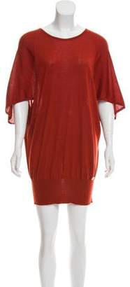 Gucci Cashmere & Silk-Blend Mini Dress