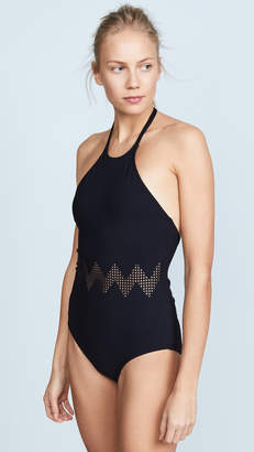 Karla Colletto Edie High Neck Swimsuit