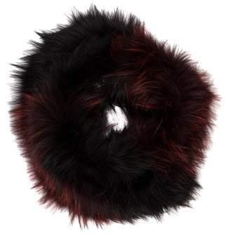 J. Mendel Knitted Fox Fur Snood