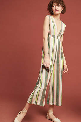 The Odells Paloma Striped Jumpsuit