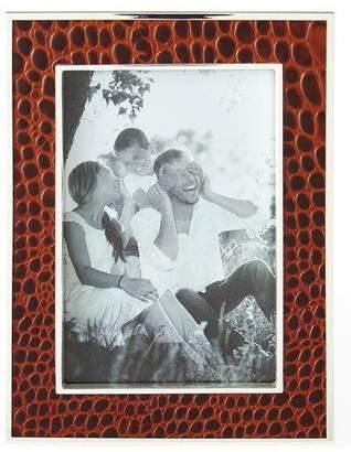 "Ralph Lauren Home Chapman Chocolate 4"" x 6"" Picture Frame"