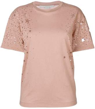Stella McCartney star cut-out T-shirt