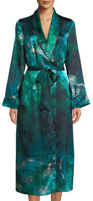 Morpho + Luna Bianca Forest Silk Long Robe