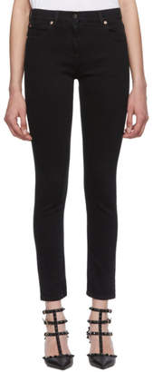 Valentino Black VLTN Stretch Jeans