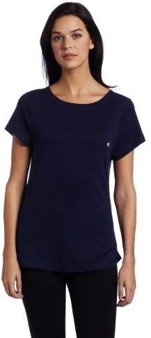 Tommy Hilfiger Women's Basic Short Sleeve Boatneck Sleep Tee