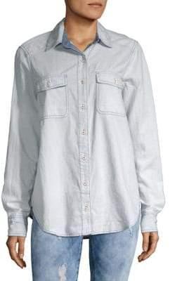 Free People Bandanna Bandit Button-Down Shirt