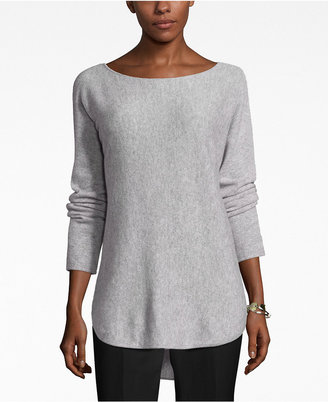 Charter Club Cashmere High-Low Sweater, Only at Macy's $159 thestylecure.com