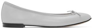 Repetto Grey Cendrillon Ballerina Flats