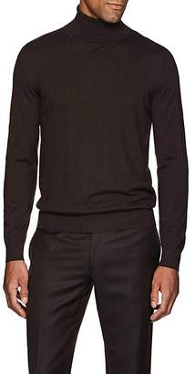 Brioni Men's Fine-Gauge Cashmere Turtleneck Sweater
