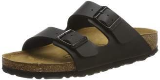 Birkenstock Women's Arizona Cork Footbed Slide Sandal 38 M EU