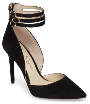 Women's Jessica Simpson Linnee Ankle Strap Pump $97.95 thestylecure.com