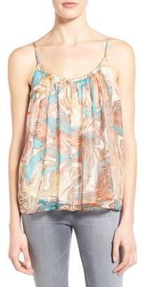 Women's Ella Moss Print Silk Camisole $138 thestylecure.com