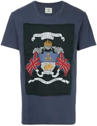 Kent & Curwen embroidered patch T-shirt