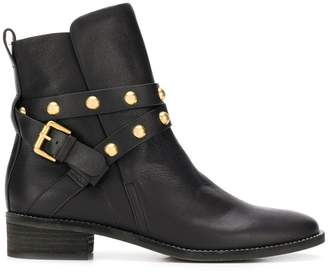 See by Chloe Janis flat ankle boots