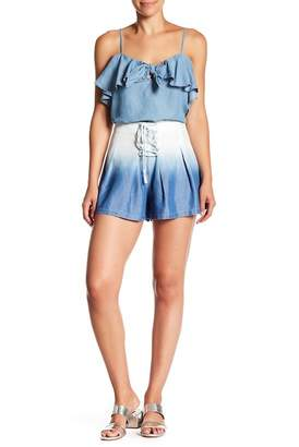 Do & Be Do + Be Ombre Denim Shorts