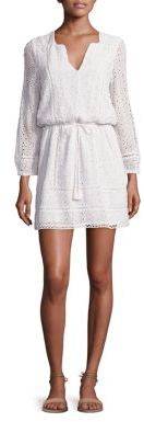 Joie Bittern C Eyelet Dress $398 thestylecure.com