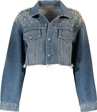 GRLFRND Cropped Eve Denim Jacket