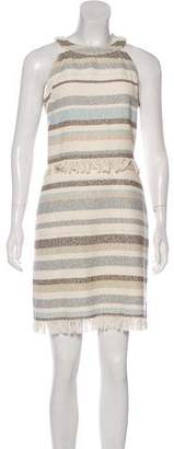 Tory Burch Stripe Mini Dress
