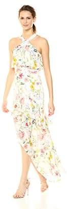 Parker Women's Fillipa Sleeveless Full Length Silk Dress,4