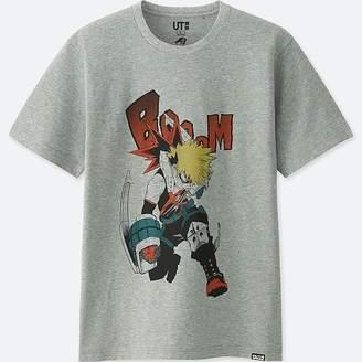 Uniqlo Jump 50th Short-sleeve Graphic T-Shirt (my Hero Academia)