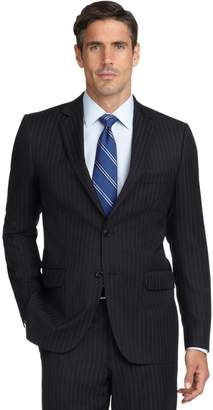 Brooks Brothers Fitzgerald Fit Double Track Stripe 1818 Suit