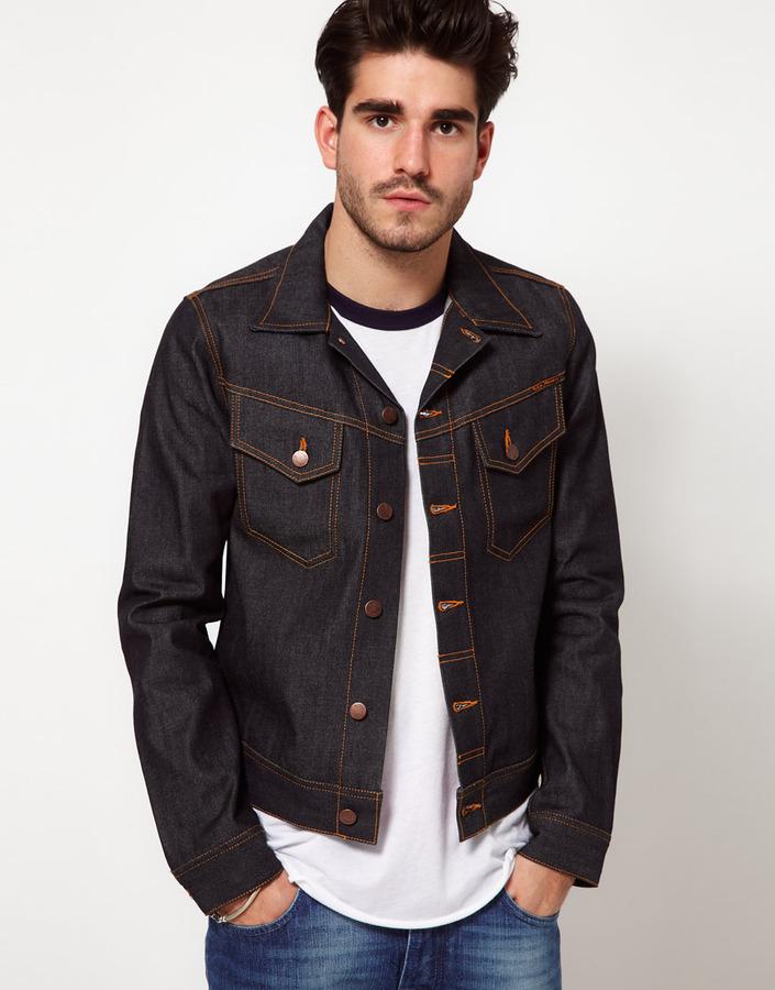 Nudie Jeans Denim Jacket Conny Dry Organic