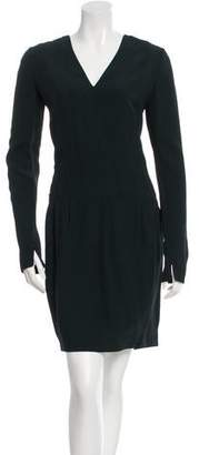 Narciso Rodriguez V-Neck Sheath Dress