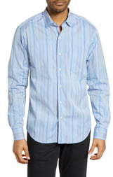 Tommy Bahama Lomi Lomi Classic Fit Stripe Sport Shirt