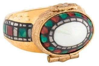 Limoges Ring Pill Box